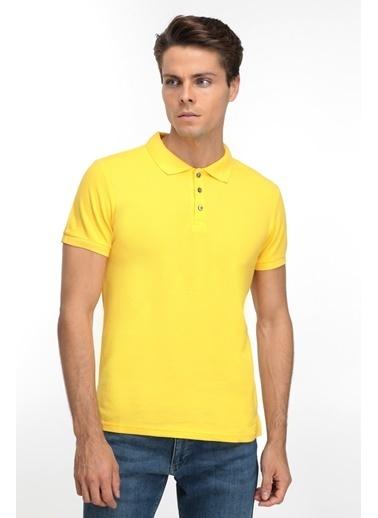 D'S Damat Tişört Sarı